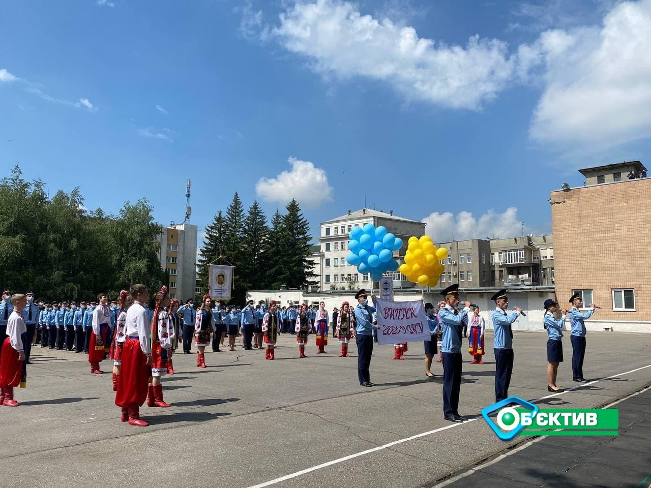 В Харькове курсанты Национального университета гражданской защиты принесли присягу