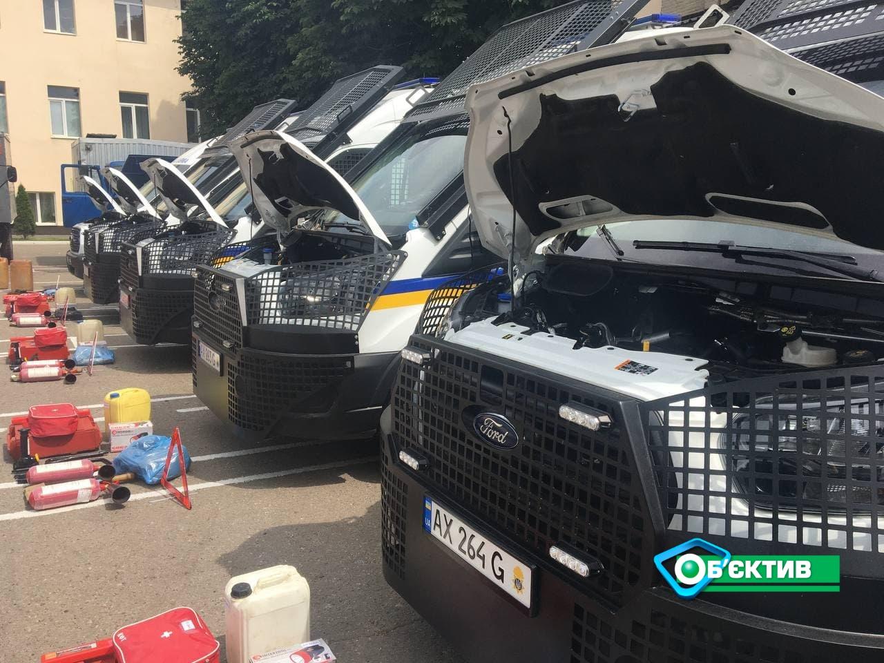 Технику Нацгвардии в Харькове загнали на техосмотр