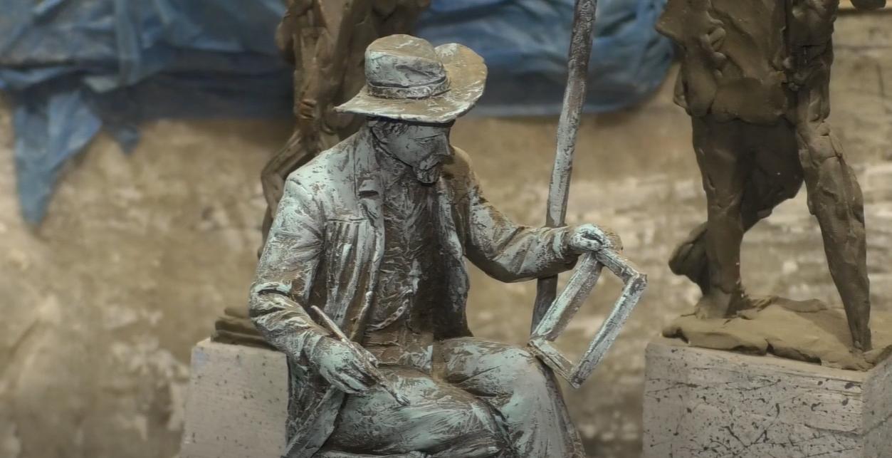 Скульптор показав, яким буде пам'ятник художнику Семирадському в центрі Харкова (відео)