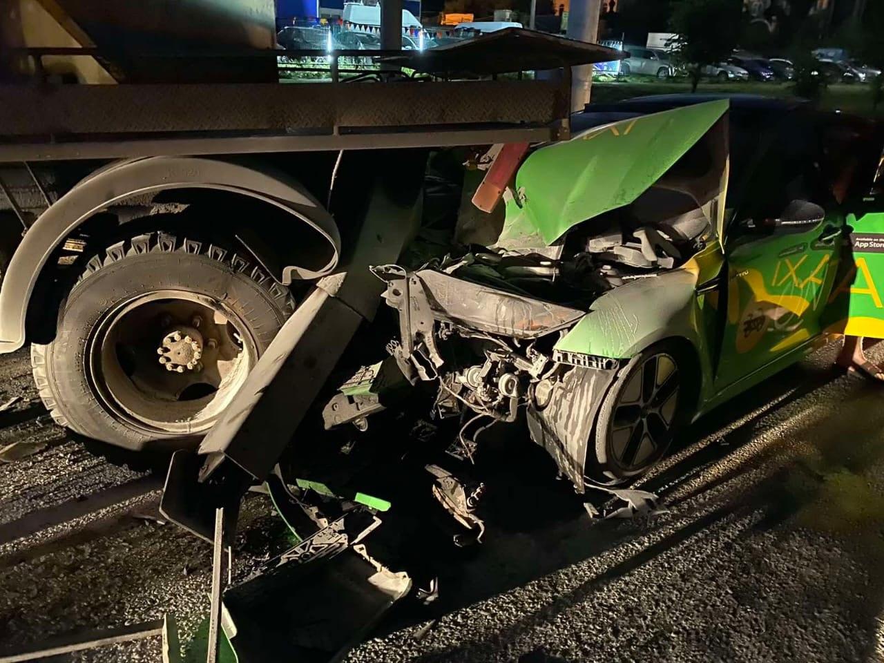В Харькове за сутки столкнулись четыре автомобиля: в авариях пострадали три человека (фото)