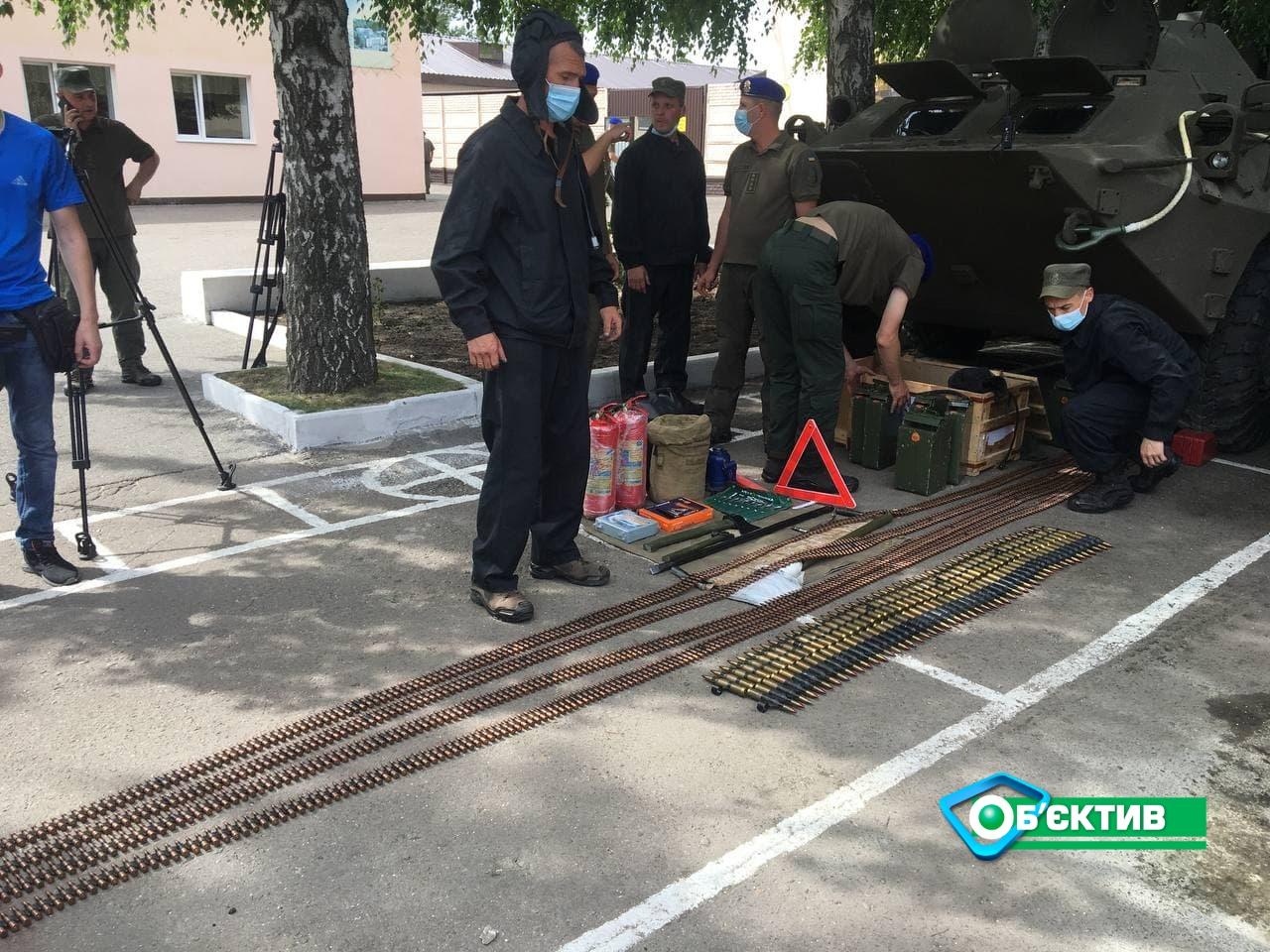 Техника Нацгвардии в Харькове проходит обязательный техосмотр