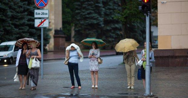 В Харькове – до 24 градусов тепла и дожди