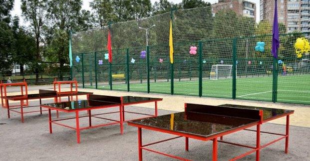 В харьковской школе №29 реконструируют стадион (фото)