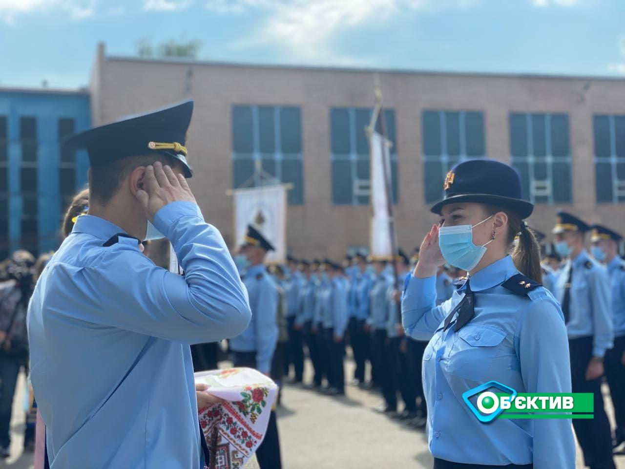 В Харькове состоялся торжественный выпуск курсантов университета гражданской защиты