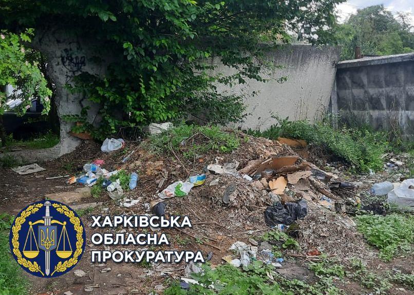 На месте обещанного новостроя в Харькове - свалка