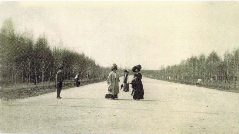 Городской парк – нынешний Центральный парк культура и отдыха им. М. Горького