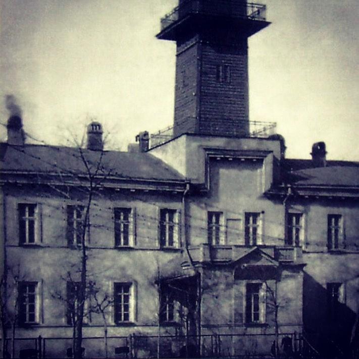 Часть здания 4-я полицейской части, находившейся на Николаевской площади