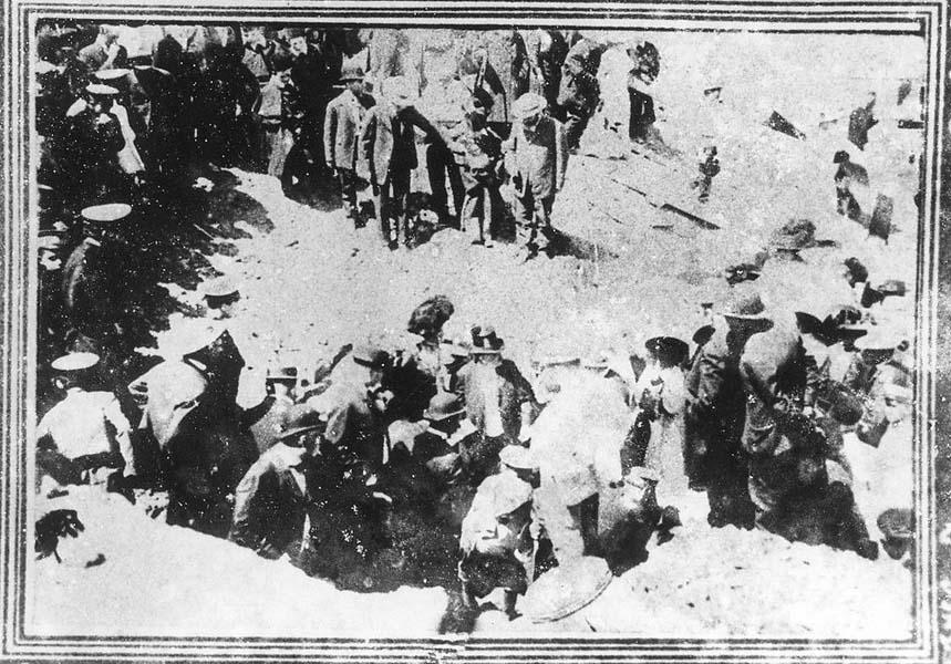 Закладка синагоги на Пушкинской улице 30 мая (12 июня) 1910 года