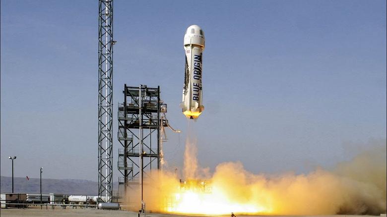 New Shepard - космический корабль