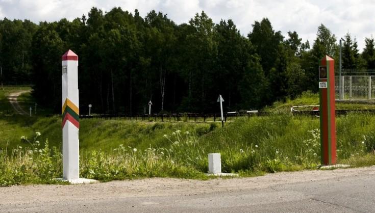 В Литве начали строить палаточный городок, в котором планируют принимать белорусских мигрантов