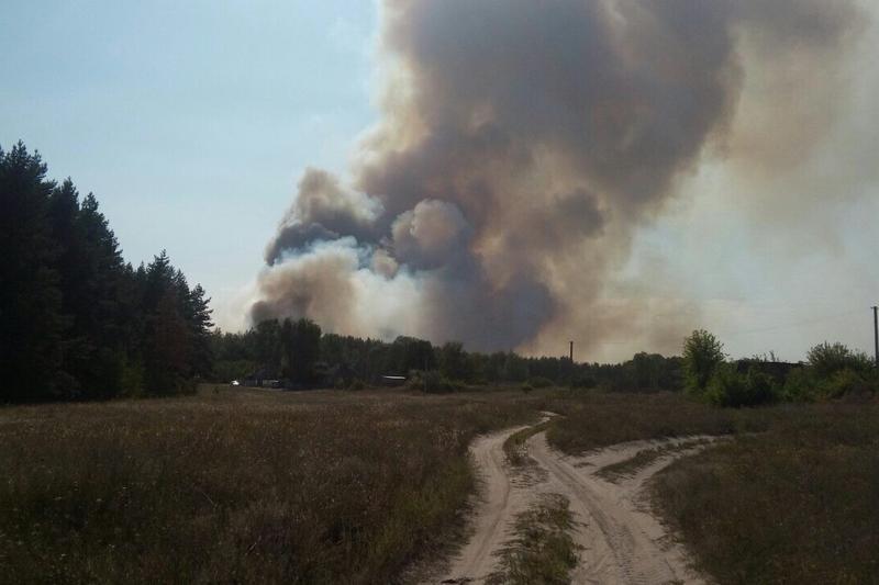 В Харьковской области зафиксировали чрезвычайный уровень пожарной опасности