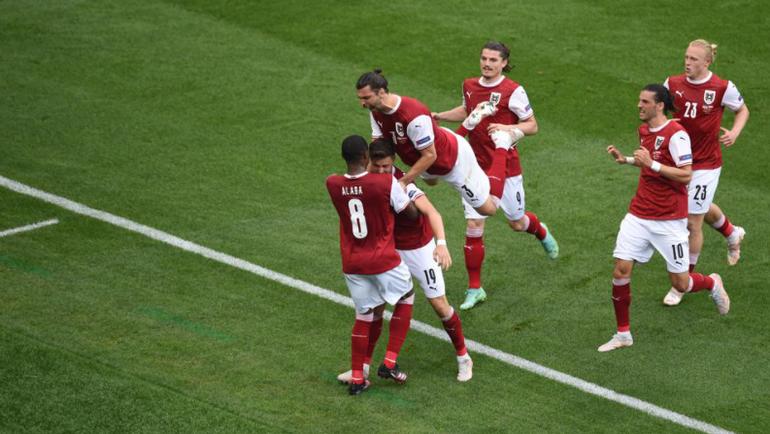 Евро 2020. Украина проиграла Австрии со счётом 0:1