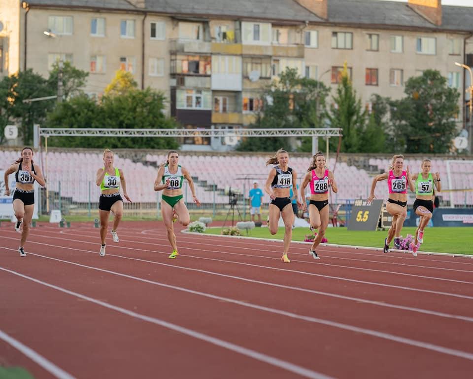 Сборная области по легкой атлетике заняла второе место на чемпионате Украины