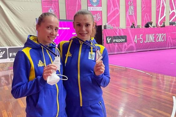 Харьковчанка стала серебряной призеркой Кубка мира по прыжкам на батуте (фото)