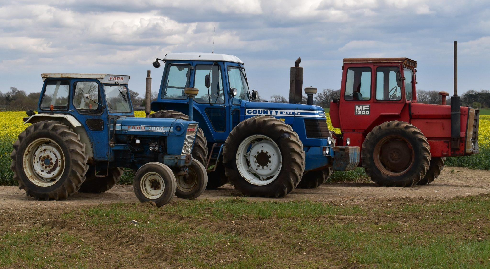 В Англии пройдет интересный аукцион: фермер пустит с молотка коллекцию раритетных тракторов