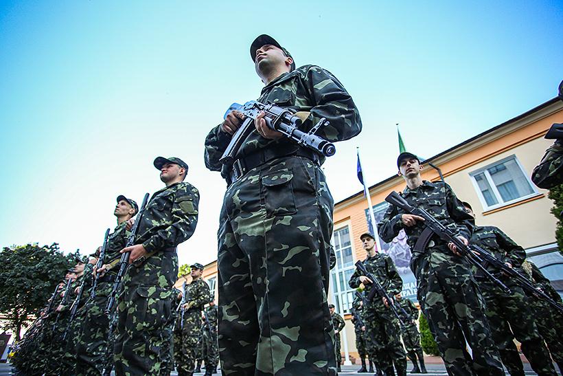 Выпуск офицеров запаса в Харькове
