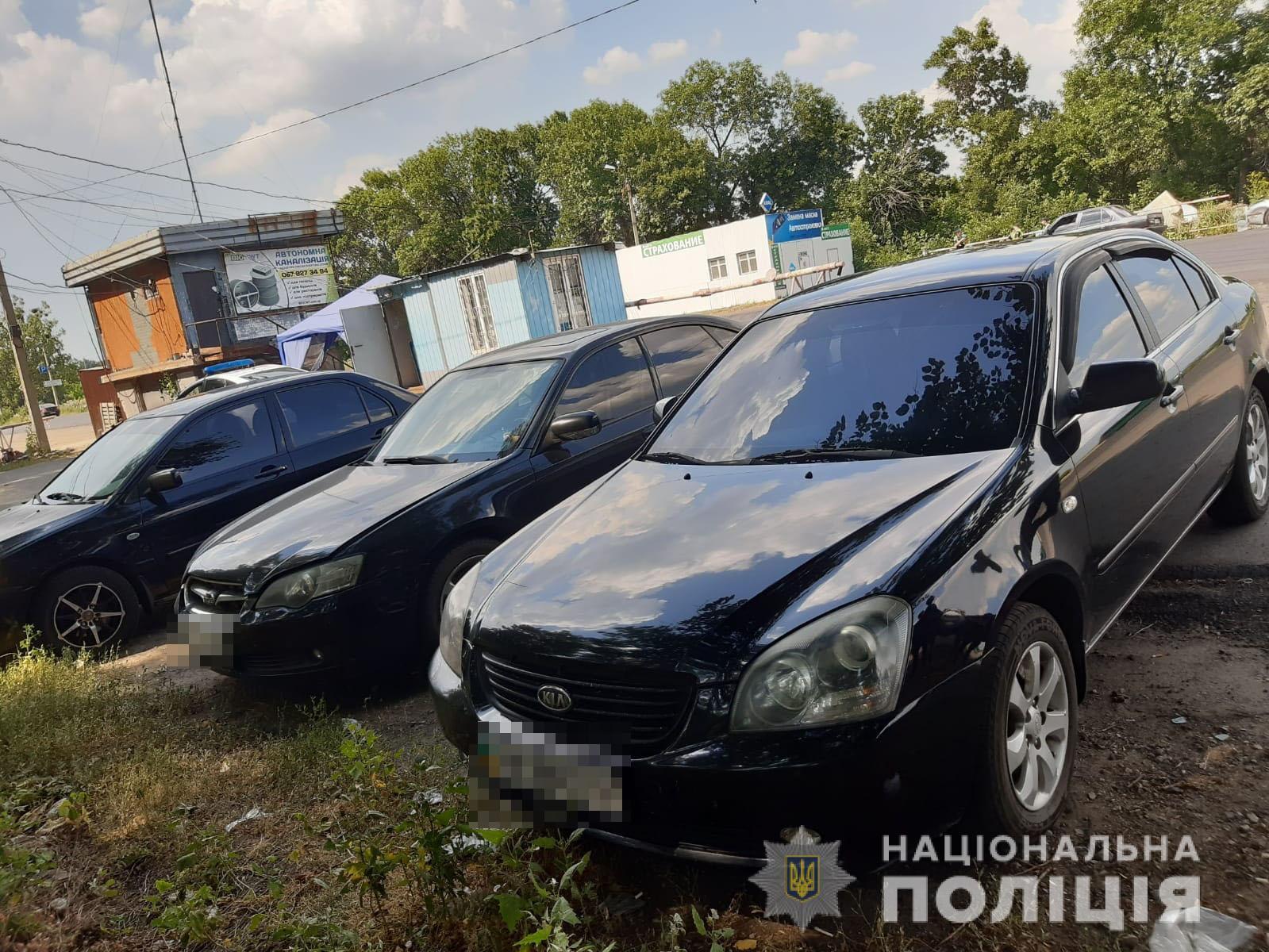 В Харьковской области сын угнал у своей матери автомобиль (фото)