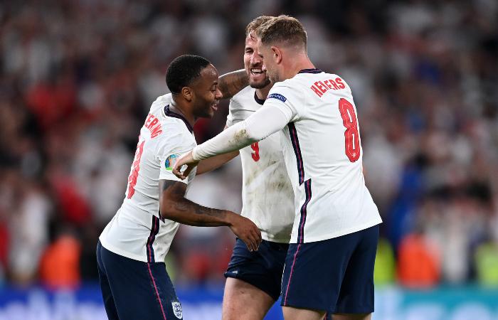 Англия вышла в финал Евро 2020