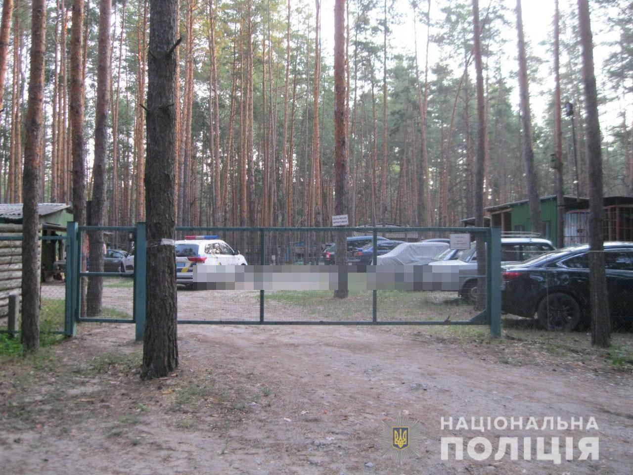 На базе отдыха в Харьковской области произошло покушение на убийство (фото)