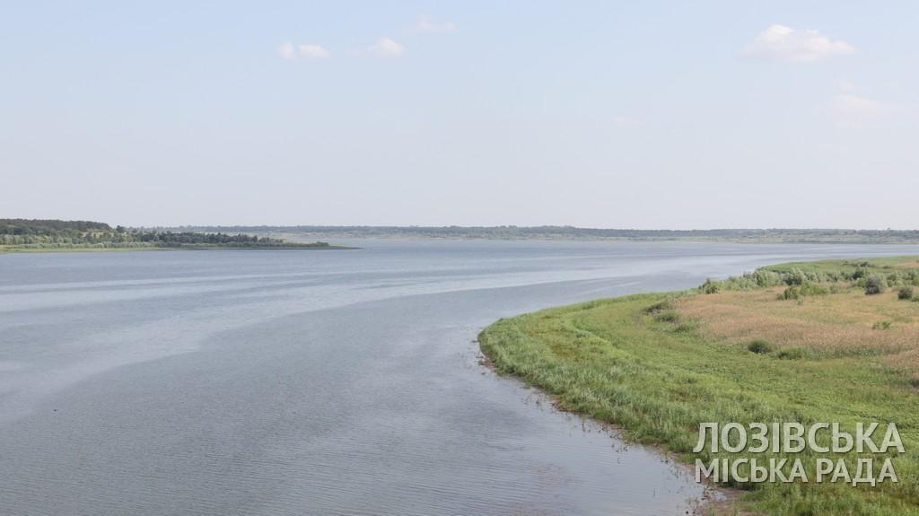 В Краснопавловском водохранилище осталось воды на 4 месяца