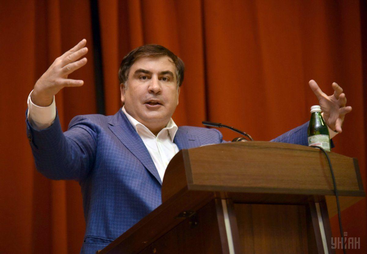 Генпрокуратура закрыла дело о получении Саакашвили денег от Курченко на протестные акции