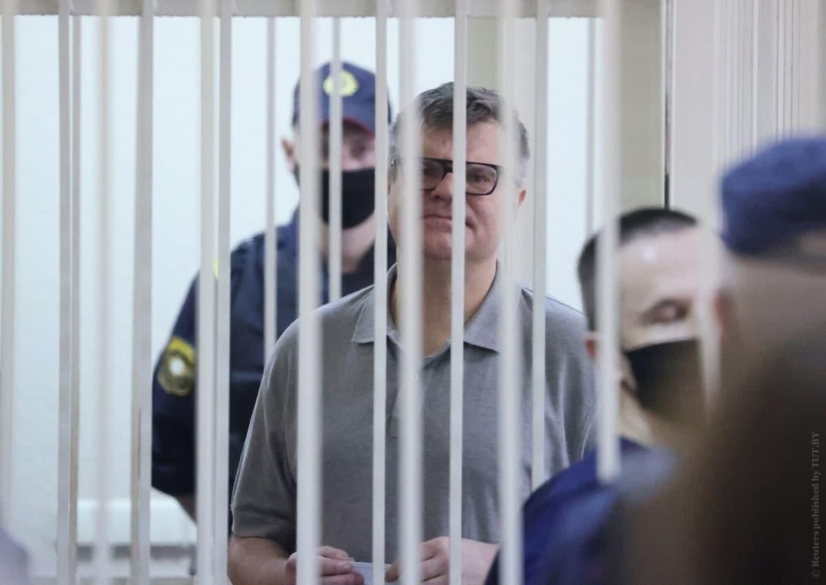 Белорусского оппозиционера и экс-кандидата в президенты Беларуси приговорили к 14 годам колонии