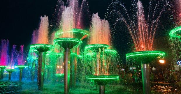 В Харькове открыли Олимпийский фонтан