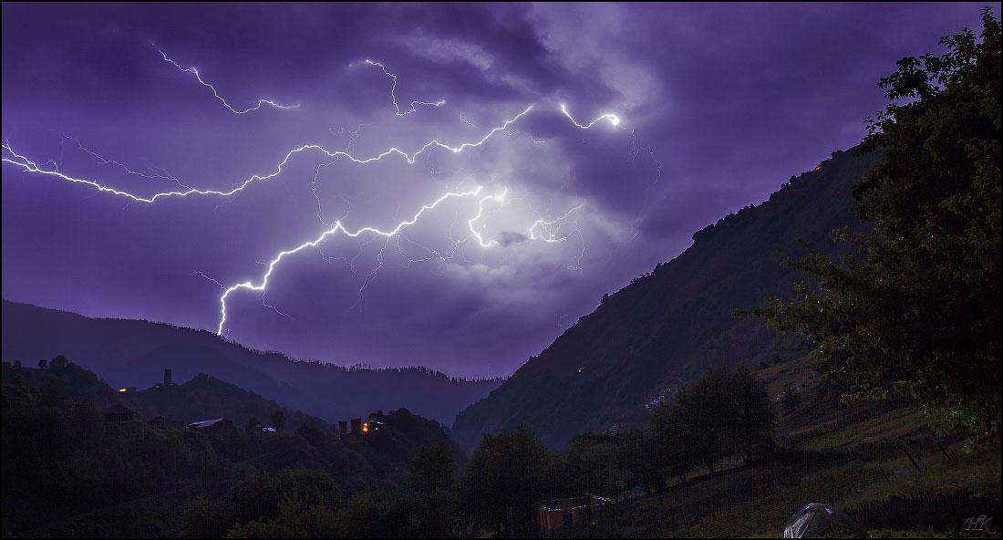 В Закарпатье в харьковского туриста ударила молния
