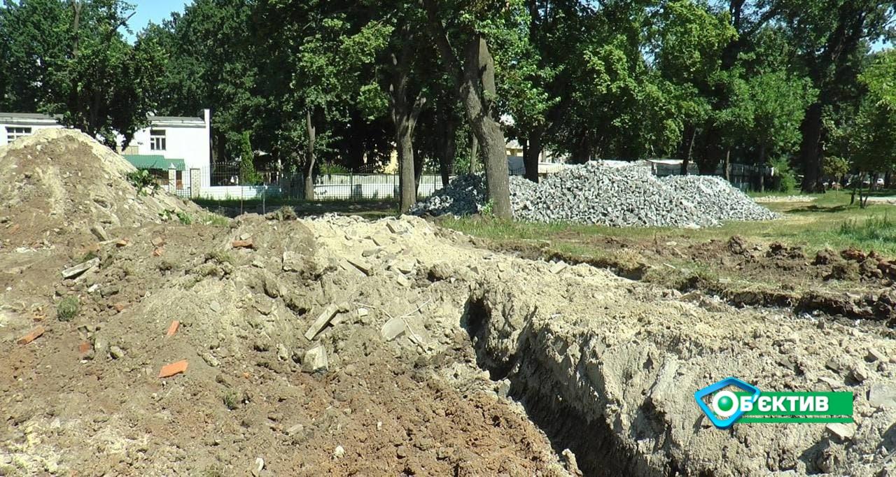 Коммунальщики приступили к реконструкции Ново-Баварского сквера