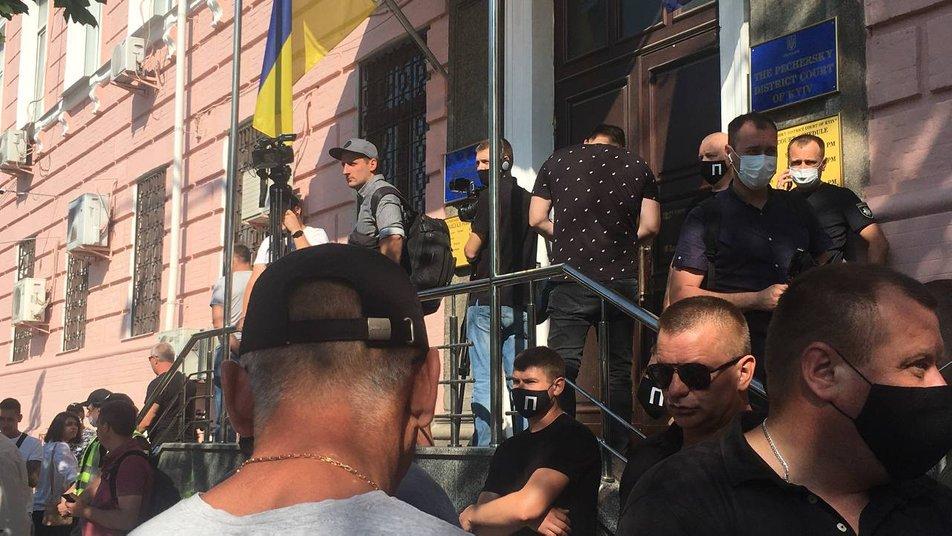 Печерский райсуд Киева рассматривает продление меры пресечения Медведчуку