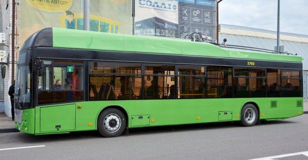 В Харькове 30 июля на маршруты до Рогани выйдут новые троллейбусы