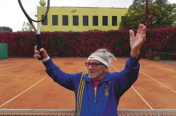 97-летний харьковский теннисист попал в Книгу рекордов Гиннесса
