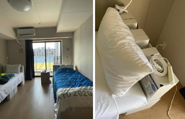 Харьковские олимпийцы спят в Токио на картонных кроватях