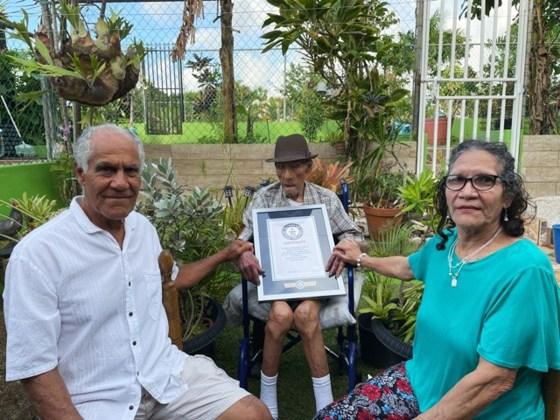 Пуэрториканец готовится отпраздновать 113-й день рождения и стать самым пожилым мужчиной в мире