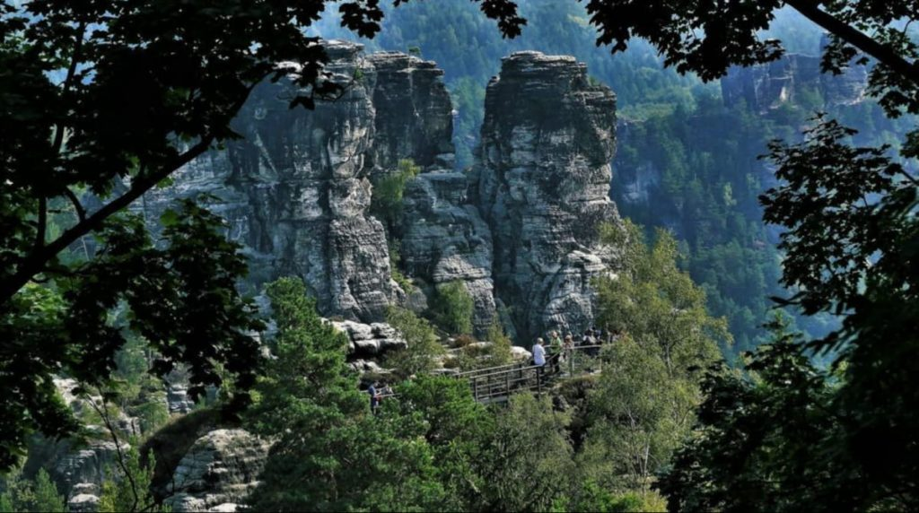 Циркельштайн - самая маленькая гора в Саксонской Швейцарии