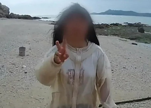 В Китае родители придумали новый воспитательный ход и оставили свою дочь на необитаемом острове