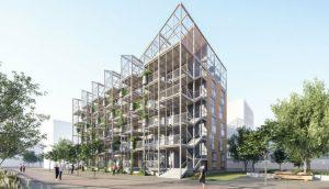 В Бремене начали строить жилой дом-теплицу