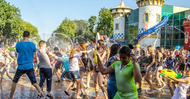Харьковчан приглашают отметить экватор лета водяной битвой и пенной вечеринкой