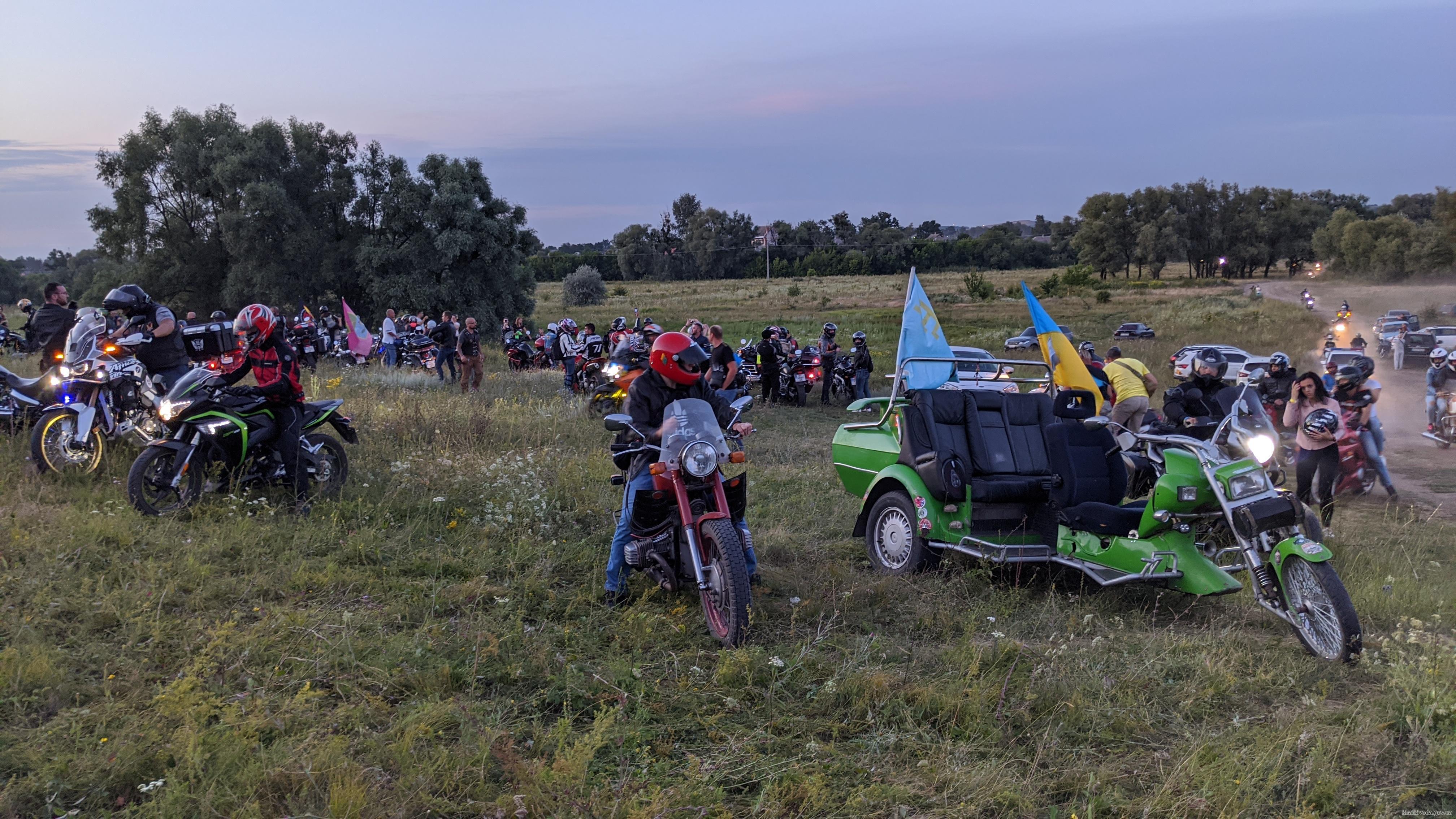 На выходных в Харьков приедут сотни байкеров