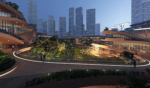 В Китае начали устроить уникальный студенческий городок Shenzhen Terraces (фото)