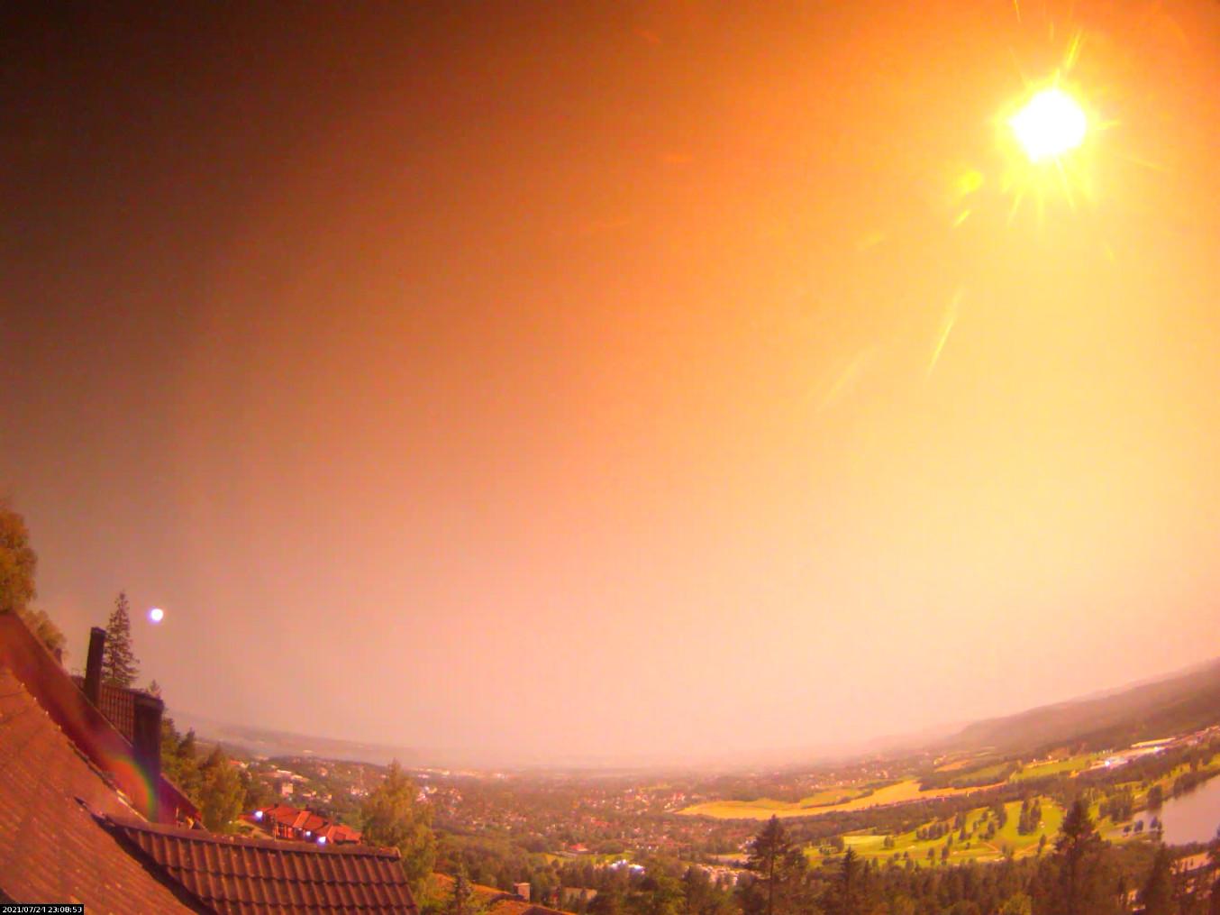 Недалеко от Осло в Норвегии в лес упал метеорит (видео)