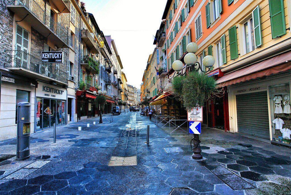 Старинные улочки Ниццы