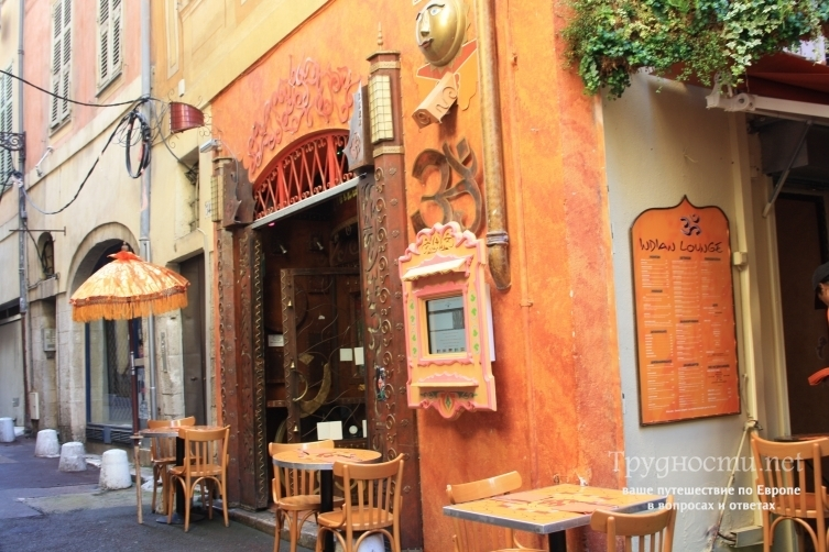 Ницца - город с древними кулинарными традициями