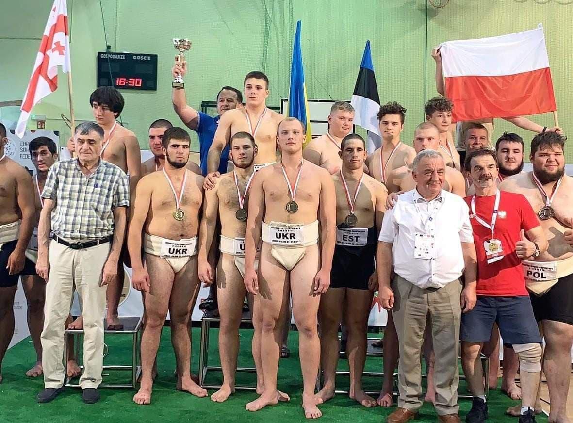Харьковские сумоистыв составе сборной Украины завоевали три золотые медали на чемпионате Европы - фото 3