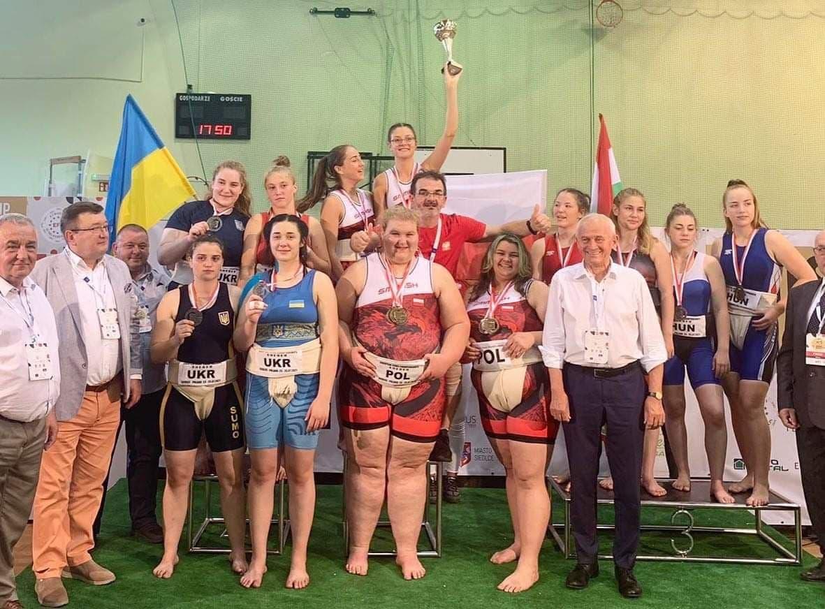 Харьковские сумоистыв составе сборной Украины завоевали три золотые медали на чемпионате Европы - фото 2