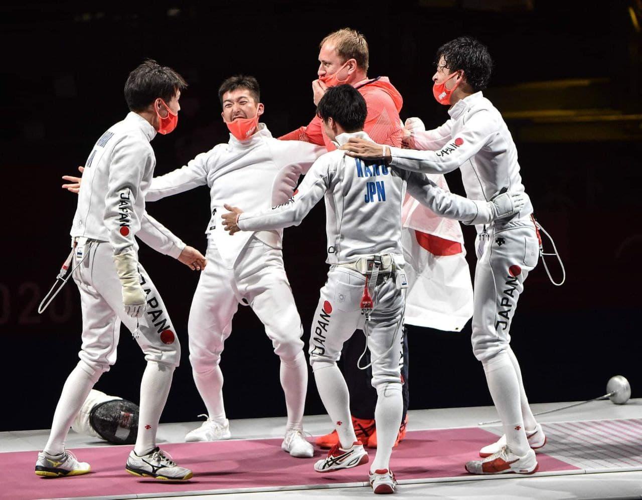 Японцы выиграли командный турнир по фехтованию на шпагах под руководством харьковского тренера - фото 4