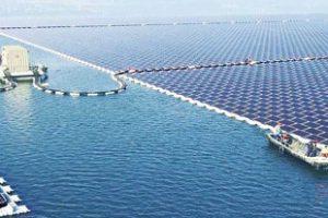 В Сингапурском проливе появится огромная плавучая солнечная станция