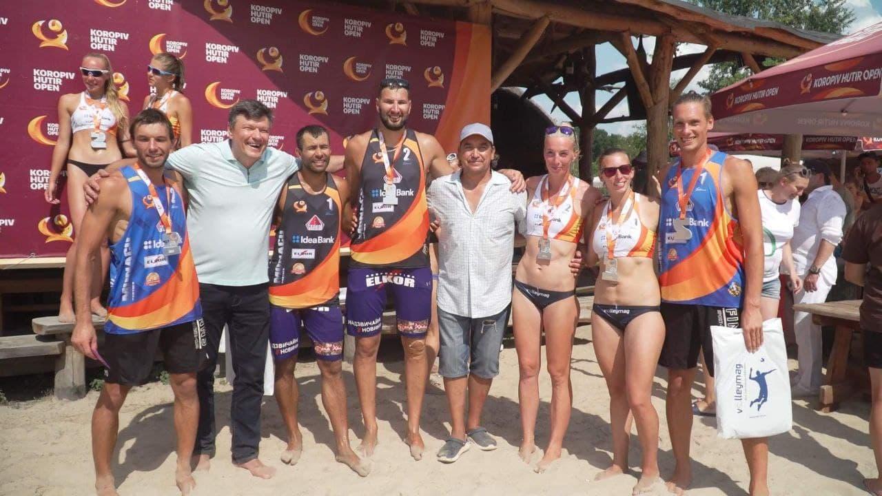 Завершился турнир по пляжному волейболу Koropiv Hutir Open (фото)