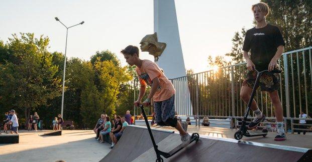 В Харькове реконструировали парк