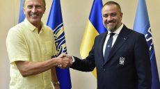 У сборной Украины по футболу появился новый тренер